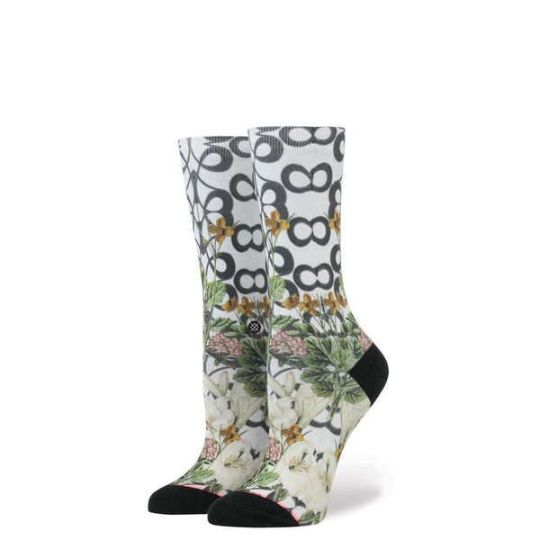 Stance for Women: Lattice Wall Grey