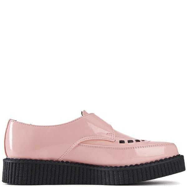 T.U.K. for Women: Pointed Pink Creepers