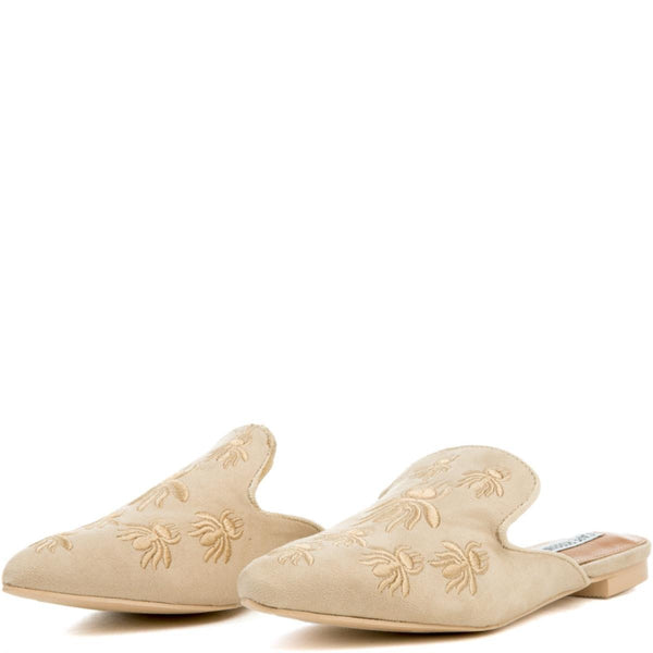 Cape Robbin Cell-18 Women's Beige Mules