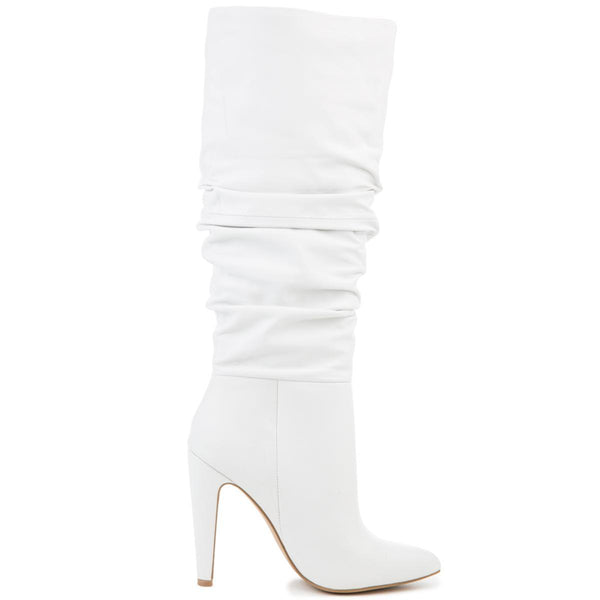 Steve Madden Carrie 105 Women's White Heeled Boots