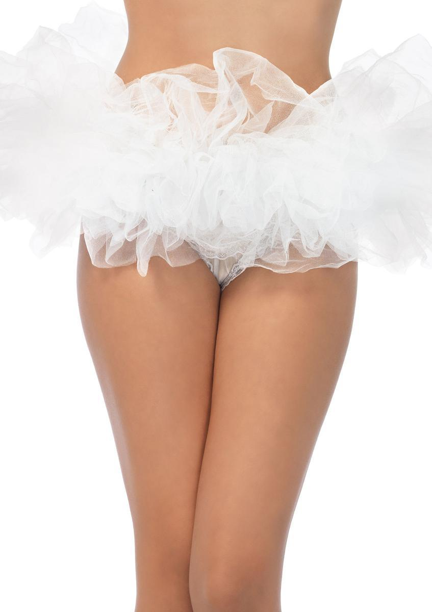 Halloween special tutu in WHITE