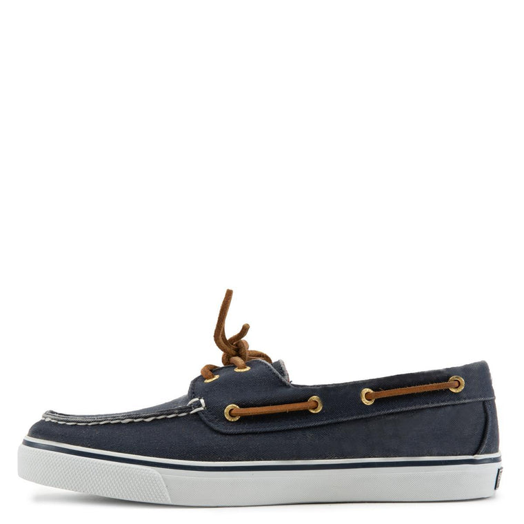 Bahama Navy Canvas Shoes