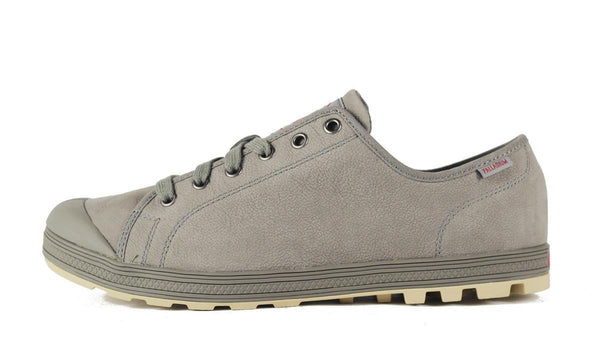Palladium for Men: LR Originale Leather Moss Gray Oxford Oxford