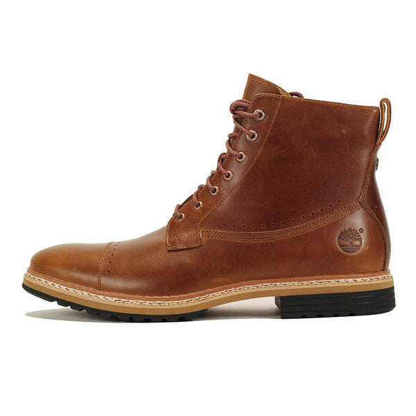 Timberland for Men: West Haven Side-Zip Brown Boot