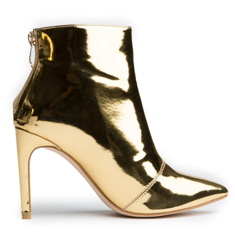 Cape Robbin Mini-101 Gold Women's Bootie
