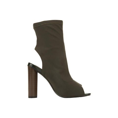 Women's Connie-3-S Mid-Calf Bootie Green Mid-Calf Boots