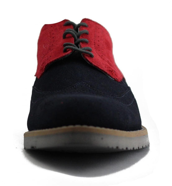 JD Fisk for Men: Vinnie Navy Oxford