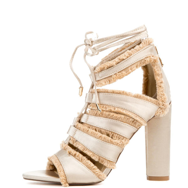 Cape Robbin Maura-5 Nude Women's High Heel
