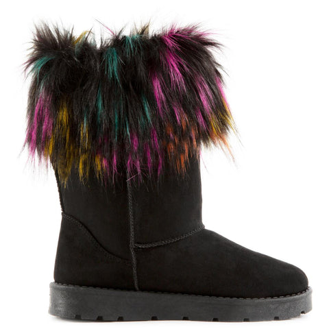 Frozen-02 Fur Booties