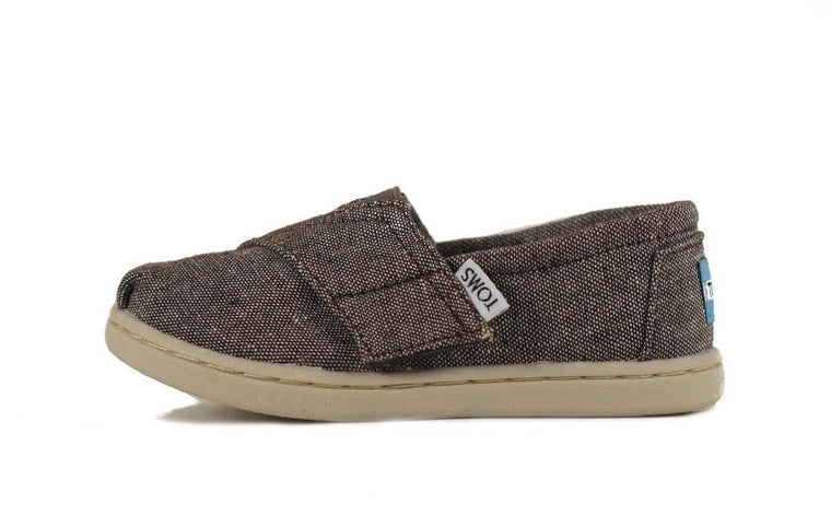 Tiny Toms Classic Grey Chambray