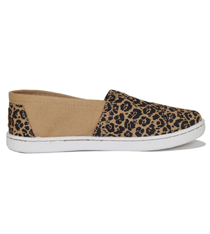 Toms for Kids: National Geographic Classic Tan Canvas Jaguar