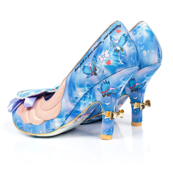 Irregular Choice Cinderella Collection: Faith In Dreams Heels
