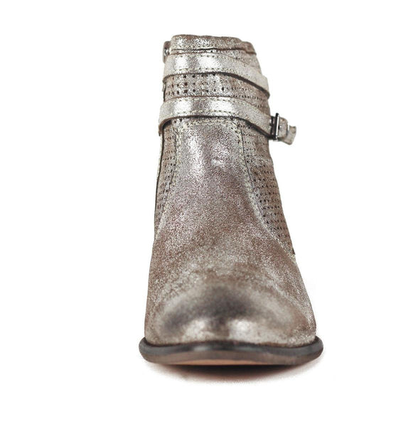 Seychelles for Women: Sanctuary Metallic Pewter Metal Bootie