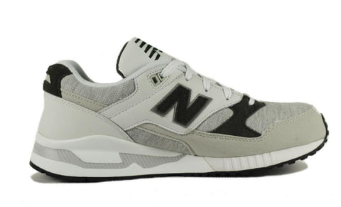 New Balance for Women: W530CAA White, Light Grey, and Charcoal Sneaker