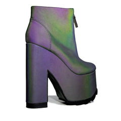 Women's Nightmare Reflective Platform Boot
