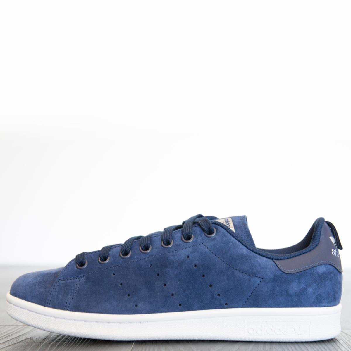 adidas Unisex: Stan Smith Collegiate Navy/Collegiate Navy/Running White Sneakers