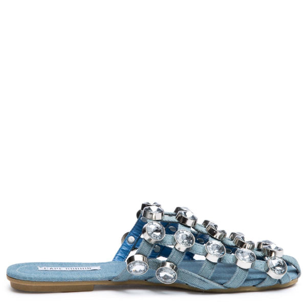 Cape Robbin Coma-17 Denim Women's Sandal