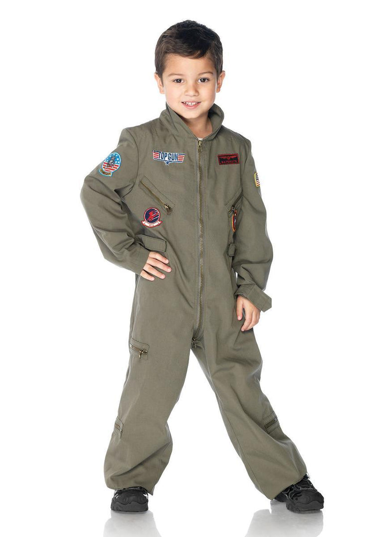 Top Gun boys flight suit in KHAKI