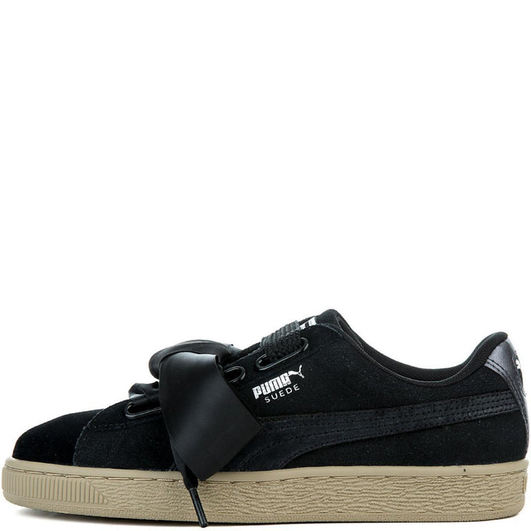 Women's Suede Heart Safari Sneaker