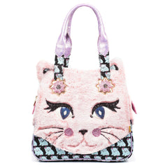 Women's Cat Call Pink Handbag