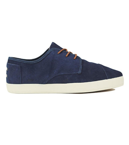 Toms for Men: Paseo Navy Suede