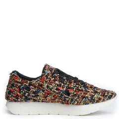 Cape Robbin Fellini-1 Black Women's Sneaker