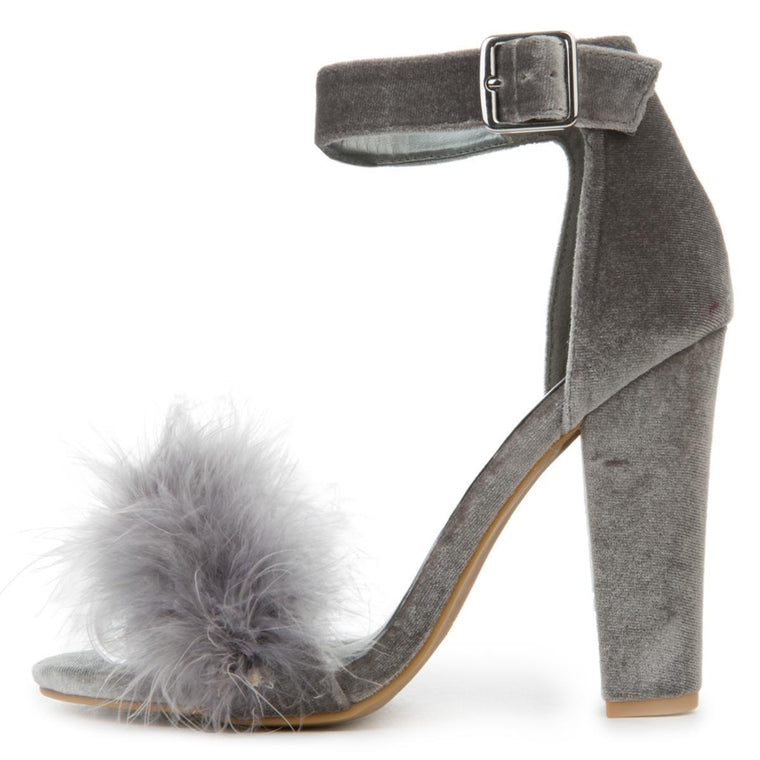 Women's Kabam Dress Gray High Heel