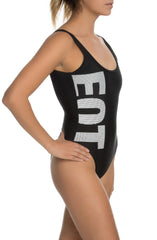 The EQT Swimsuit in Black and White