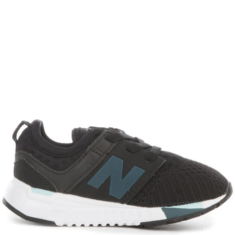 Kid's 247 Sport Black with Castaway Sneakers