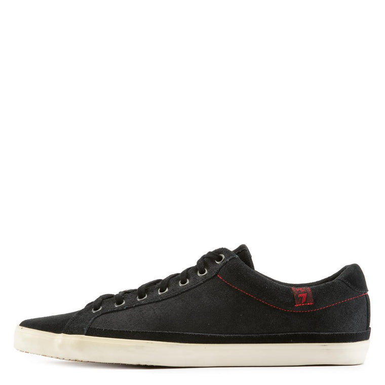 Calvin Black Suede Sneakers