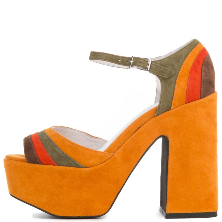 Jeffrey Campbell for Women: Candice-2 Mustard Heel