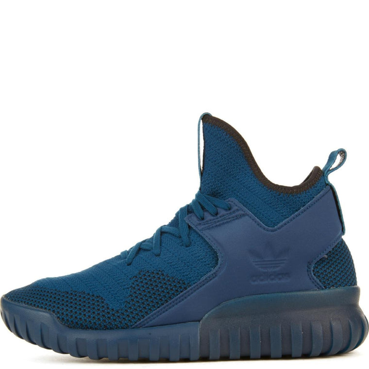 Tubular X Primeknit Blue Sneakers