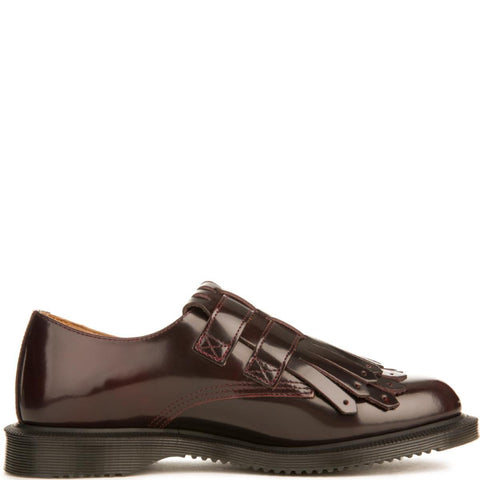 Dr. Martens for Women: Ellaria Cherry Red Oxfords