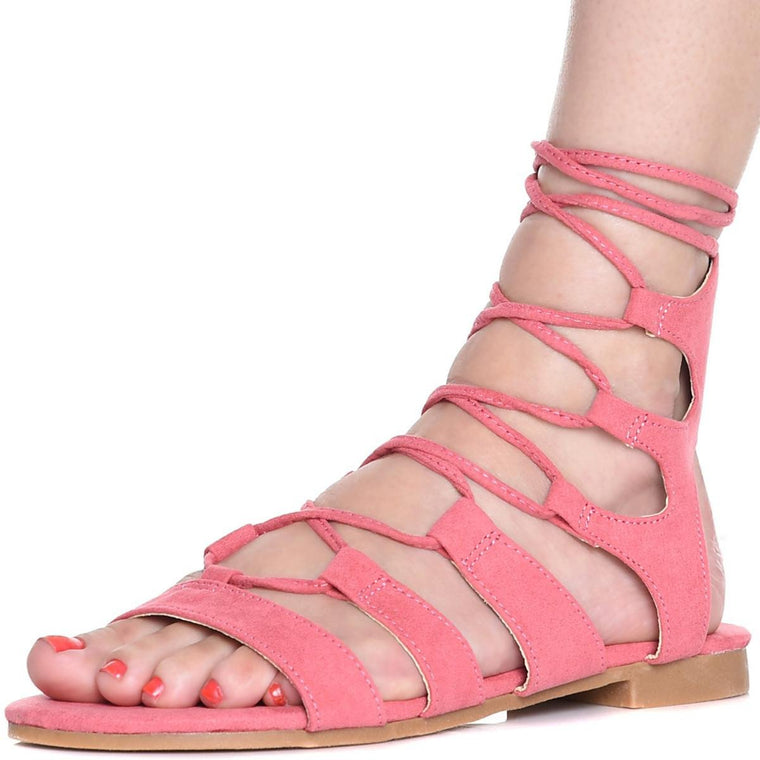 Women's Emily-25 Lace-Up Sandal