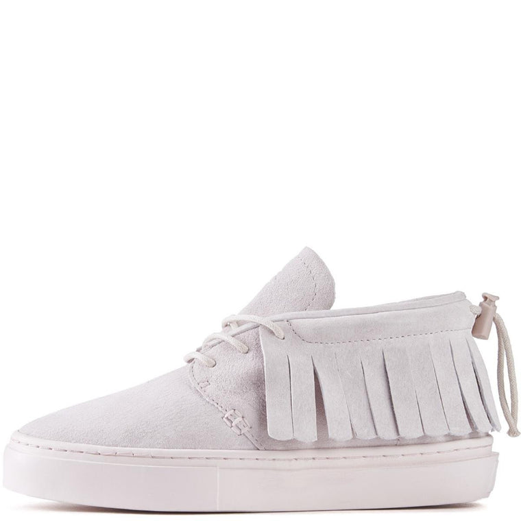 Clear Weather Unisex: One O One Pale Pink Chukka Moccasin Sneakers