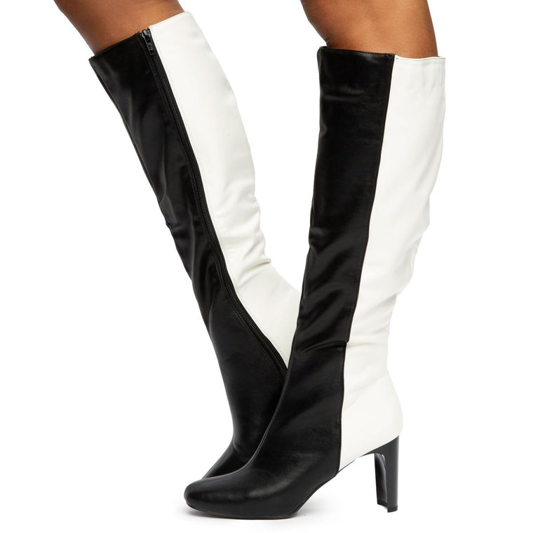Cup-03 Knee High Boots