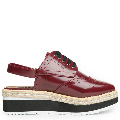 Cape Robbin Milly-1 Women's Wine Oxford