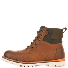 Toms for Men: Ashland Brown Waterproof Boots