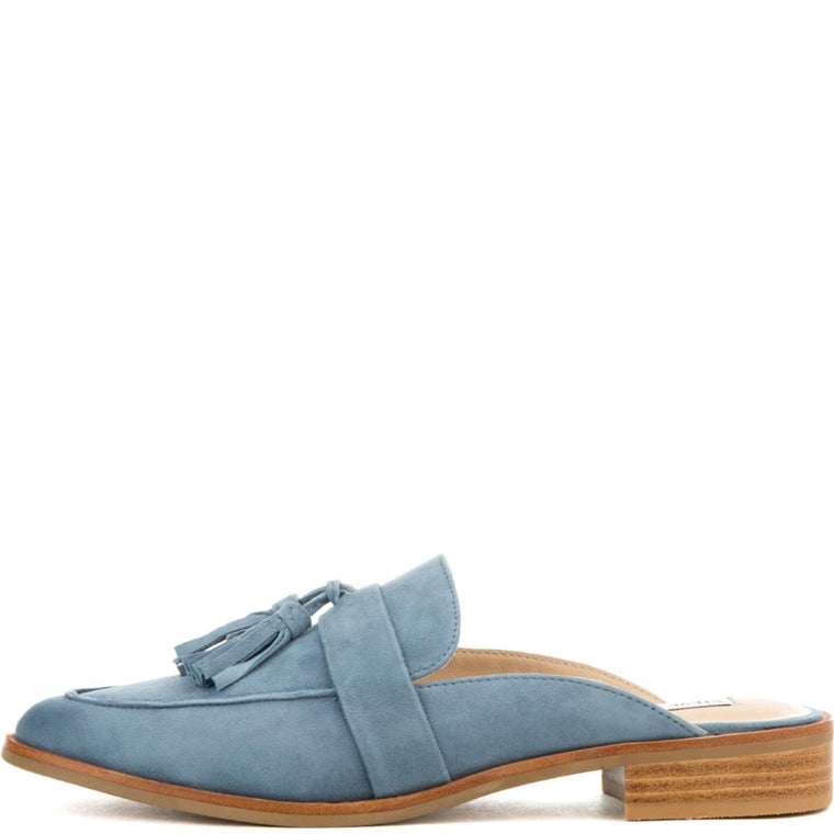 Stave Madden for Women: MAGAN BLUE SUEDE