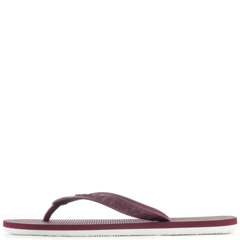 Hayn for Men: Li Hing Mui Maroon Sandals