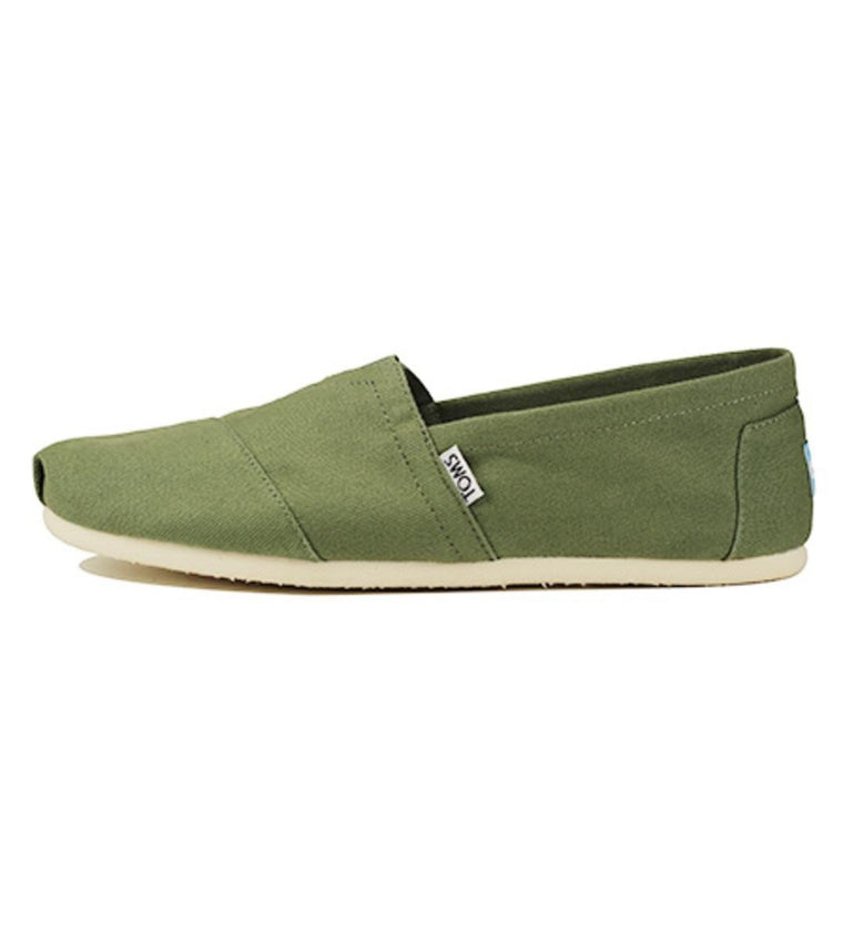 Toms for Men: Classic Deep Green Canvas