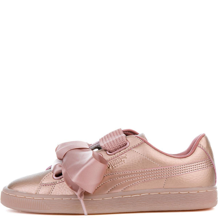 Women's Basket Heart Copper Sneaker