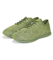 Ransom Unisex: Field Lite Army Green Sneakers