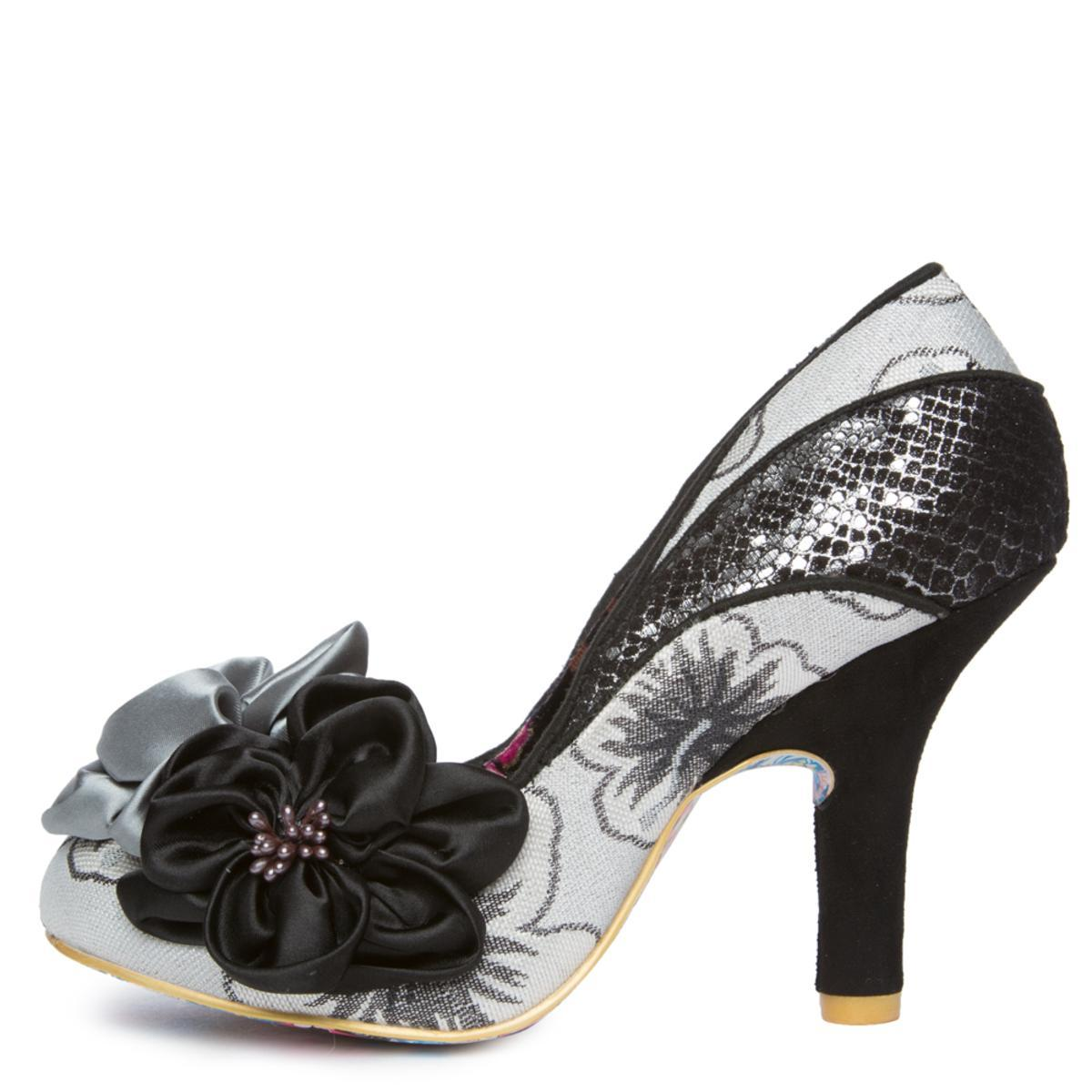 Women's Peach Melba Black High Heel