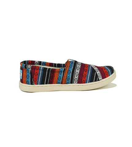 Toms for Kids: Classic Blue Woven Textile