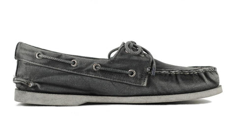 Sperry Top-Sider for Men: Authentic Original Washed Canvas 2-Eye Boat Shoe