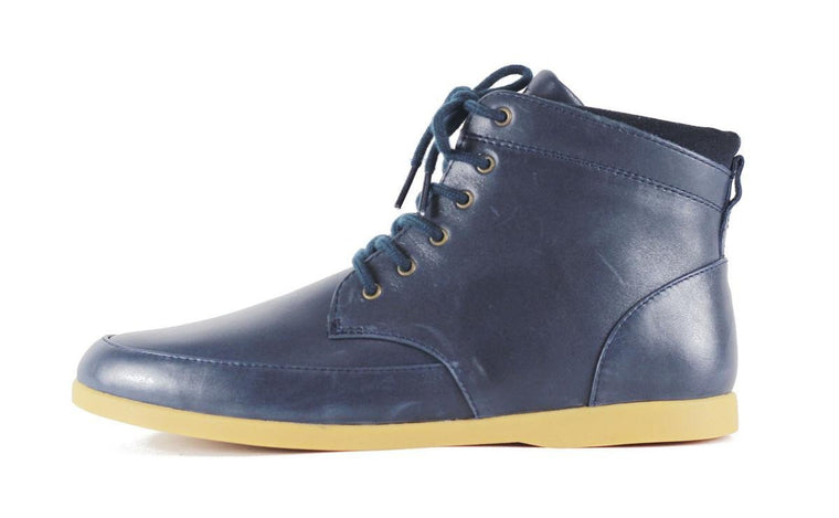 Men's Hamilton Deep Navy Leather Sneakers