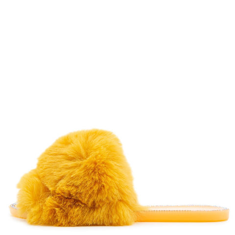 Jelly-20 Flat Fur Sandals