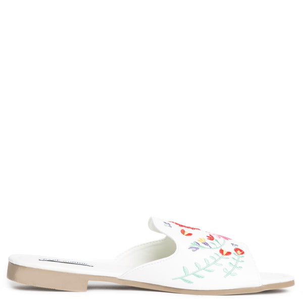 Cape Robbin Emily-87 White Women's Sandals