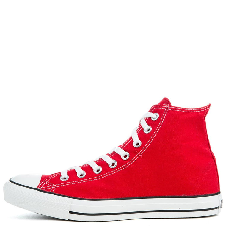Unisex Chuck Taylor All Star Red/White High Top Sneakers